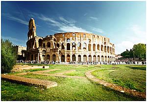 Mit Begleitung durch Rom